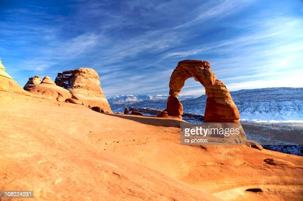 Beautiful arches in Utah's National Park