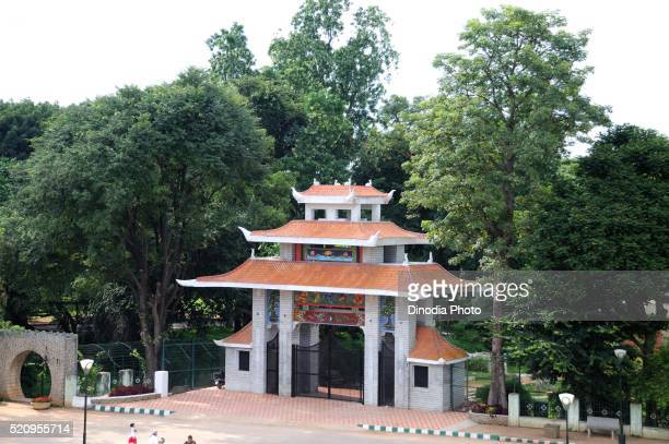 Beautiful architecture gate of botanical garden, Bangalore, Karnataka, India