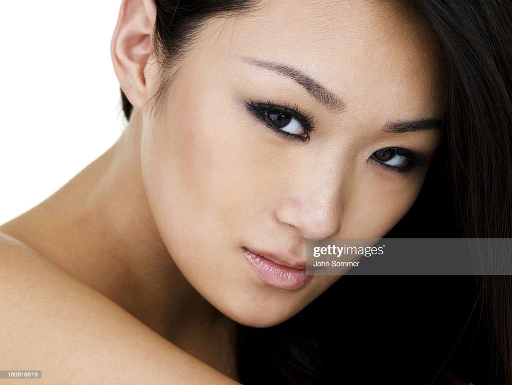 Beautiful Asian woman : Stock Photo