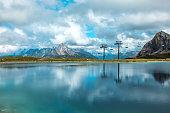 beautiful austrian countryside european lakeside landscape