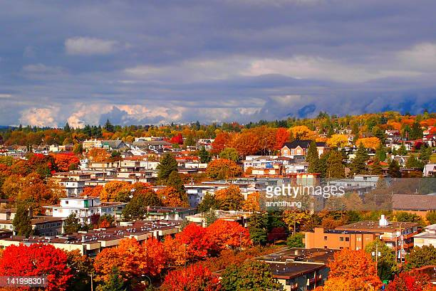 Beautiful autumn colors in Vancouver