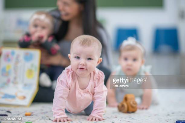 beautiful baby girl portrait - fatcamera stock pictures, royalty-free photos & images
