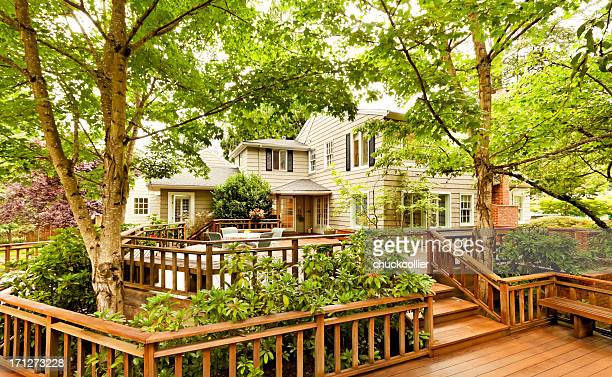 Beautiful Back Deck