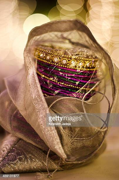 beautiful bangles for the indian bride - bangle stock pictures, royalty-free photos & images