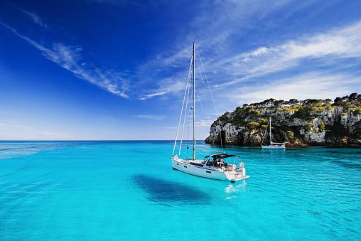 Beautiful bay in Mediterranean sea 688928992