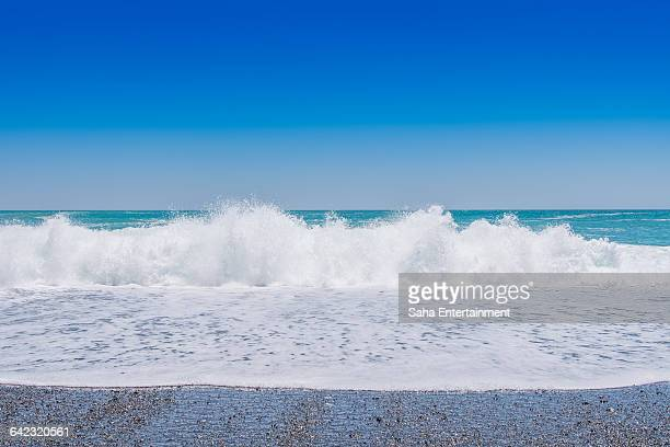beautiful beach and blue sky - saha entertainment stock pictures, royalty-free photos & images