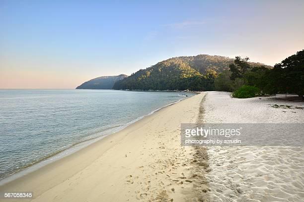 Beautiful beach at the island