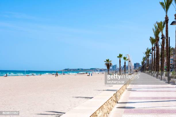 Beautiful Beach in Alicante, Spain