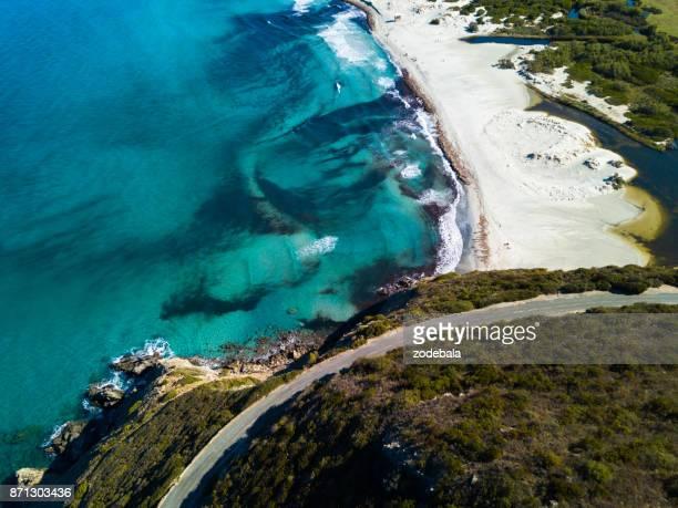 Belle plage en Corse, plage de l'Ostriconi
