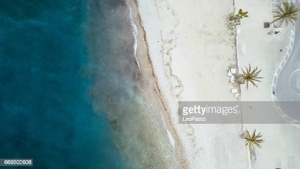 イタリアのアドリア海の美しいビーチ