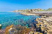 A beautiful beach in Karpaz region of Northern Cyprus