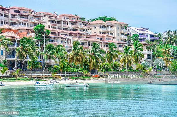 Beautiful beach in the Virgin Islands