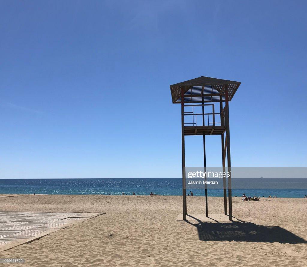 Beautiful beach : Stock-Foto