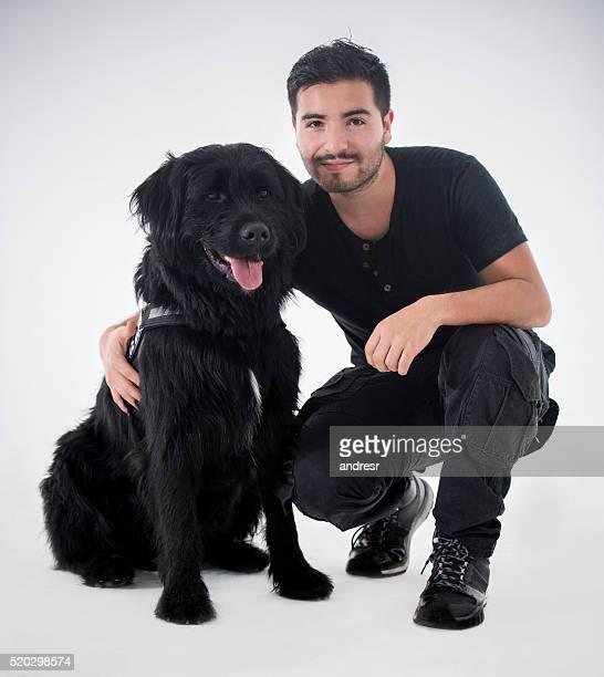 Bellissimo cane nero