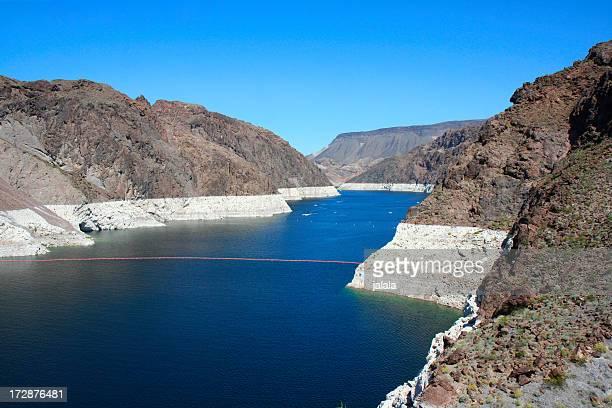 Beautiful Blue Lake Mead - Hoover Dam