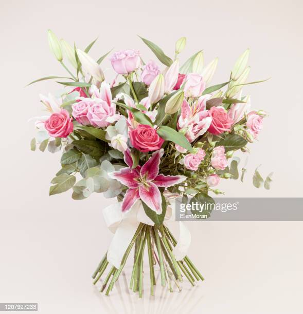 beautiful bouquet - bouquet stock pictures, royalty-free photos & images