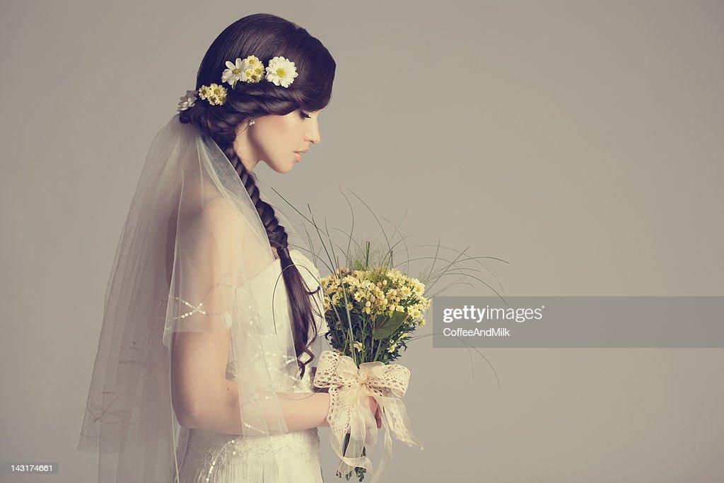美しい花嫁 : ストックフォト