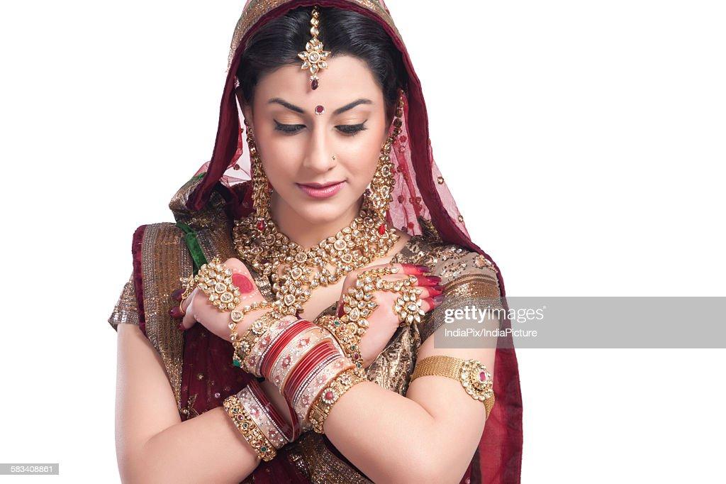 Beautiful bride : Stock Photo