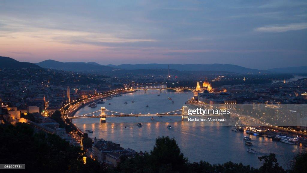 Beautiful Budapest : Foto de stock