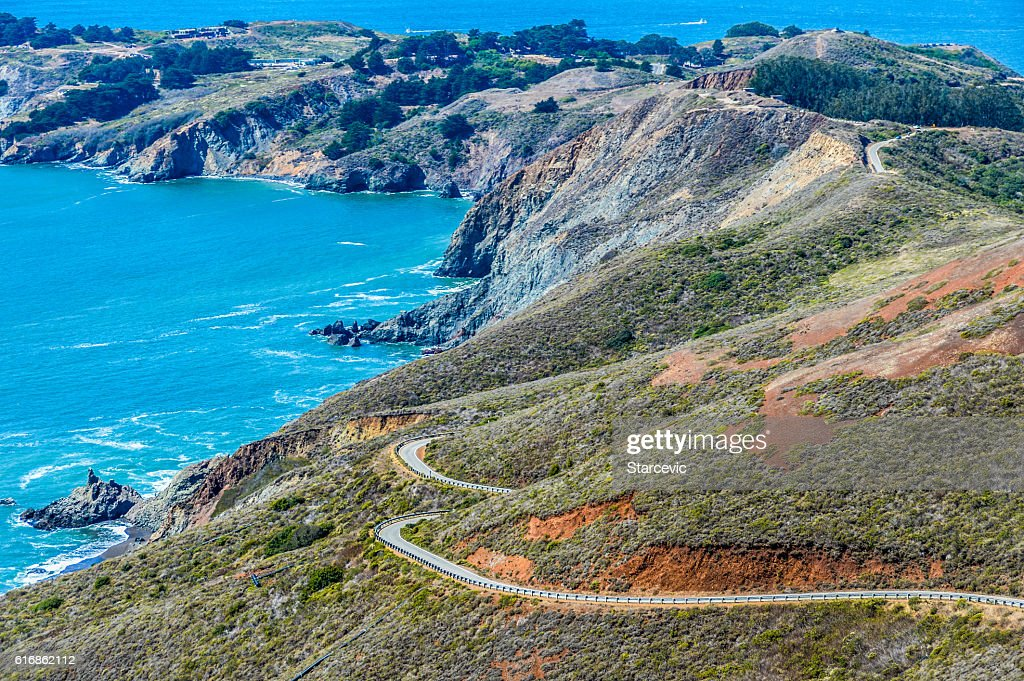 Beautiful California coast along Highway 1 : Stock Photo