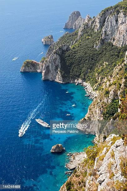 Beautiful Capri's sea