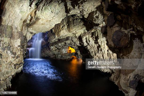 Beautiful Cave in Scotland
