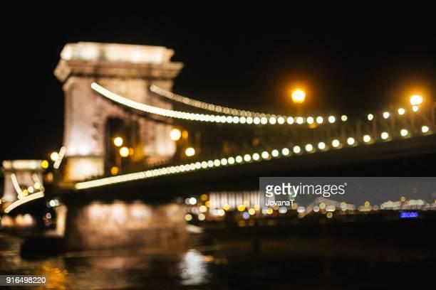 Beautiful Chain bridge in Budapest