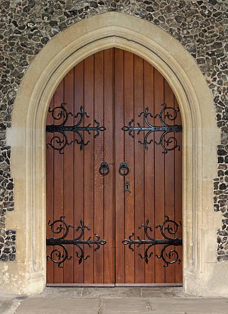 beautiful church door