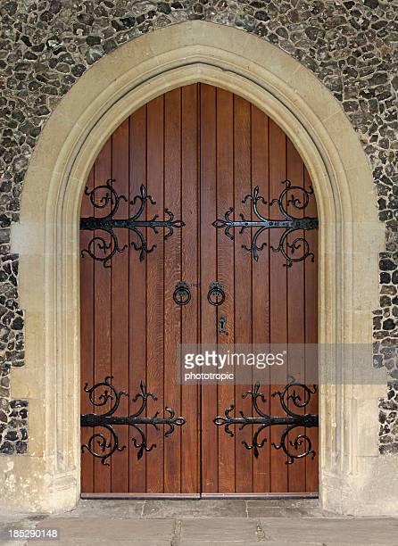 美しい教会のドア