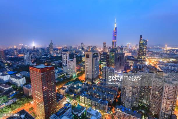 beautiful cityscape of Nanjing