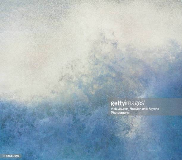 beautiful close up of power of a wave at jones beach, long island - wantagh stock pictures, royalty-free photos & images