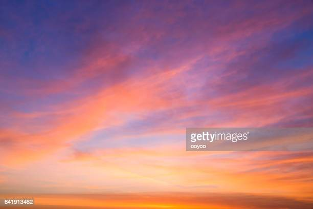 beautiful cloudscape in the morning - dawn stock pictures, royalty-free photos & images