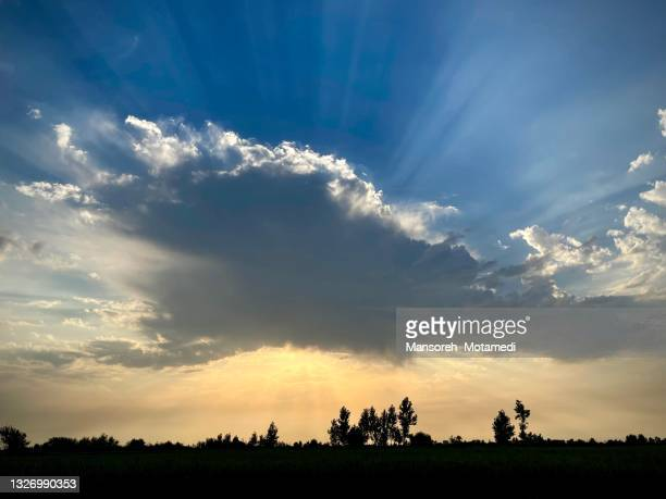 beautiful cloudy sky - iran stock pictures, royalty-free photos & images