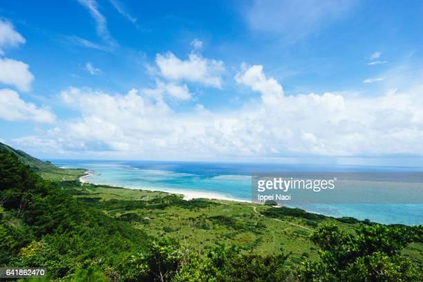 Beautiful coastline of southern Japan, Ishigaki Island, Okinawa