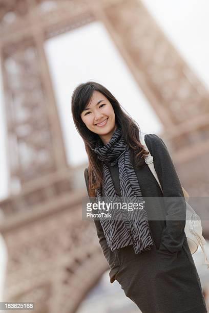 Beautiful College Student in Paris - XLarge