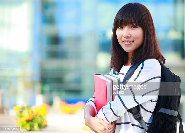 beautiful college student