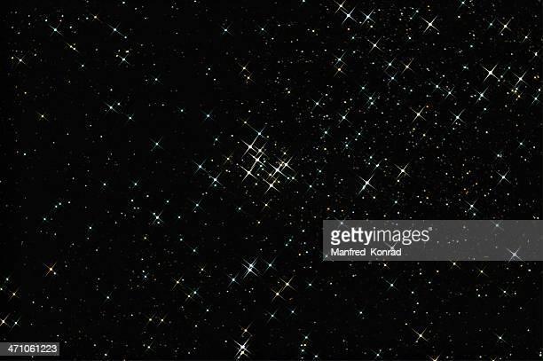 Beautiful colored Stars, Custer M29