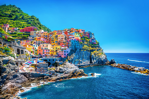 Beautiful colorful cityscape 479824818
