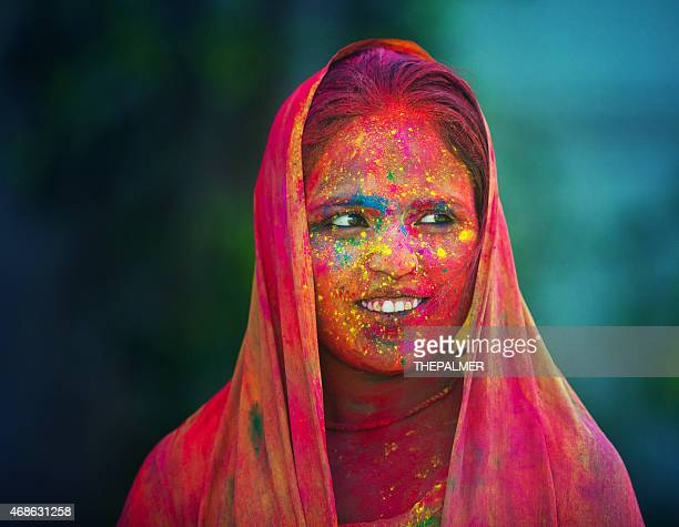 Beautiful colors on India
