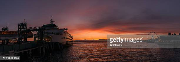 beautiful commute - kitsap county washington state stock pictures, royalty-free photos & images
