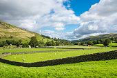 Beautiful countryside near Muker, Swaledale, Yorkshire Dales