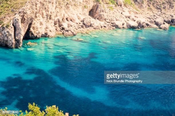 Beautiful cove, Paleokastritsa, Corfu, Greece
