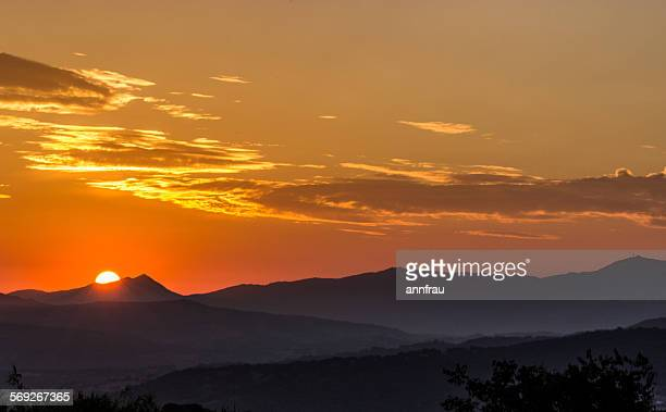 beautiful dawn - annfrau stock photos and pictures