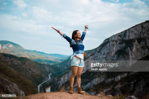 美しい一日を山