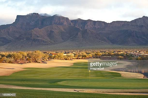 Beautiful Desert Golf Course