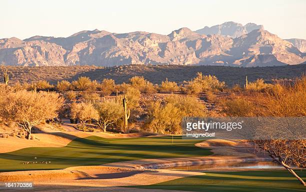 Beautiful Desert Golf Course