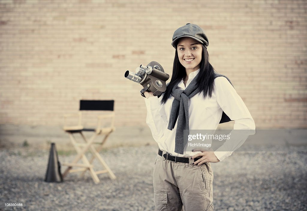 Beautiful Director : Stock Photo
