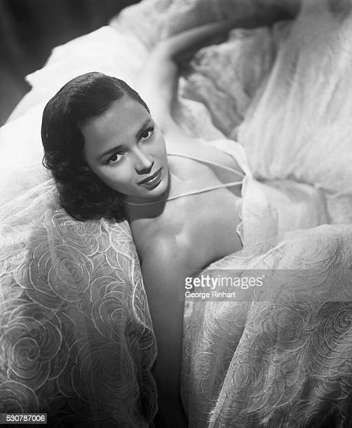 Beautiful Dorothy Dandridge started her career as a nightclub singer later became a Hollywood star and appeared in such pictures as Carmen Jones...
