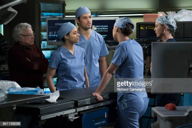S ANATOMY 'Beautiful Dreamer' An agent from ICE shows up at Grey Sloan in search of an employee who may be working in the US under DACA Alex's...