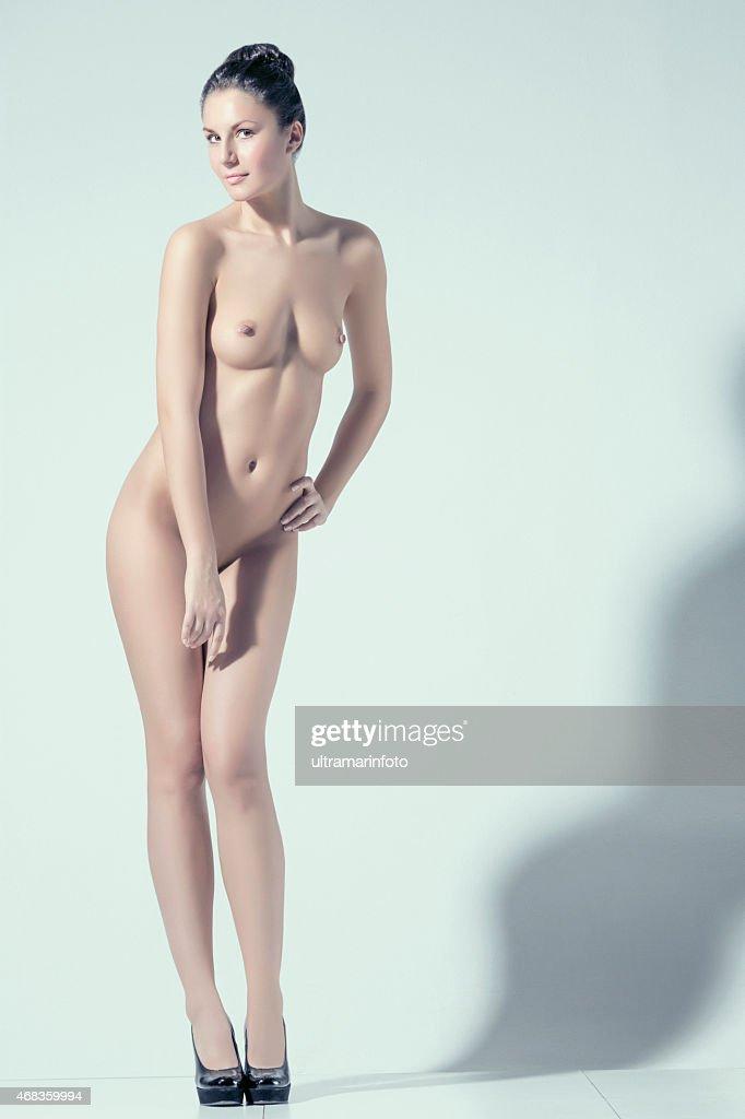 Naked women in heels